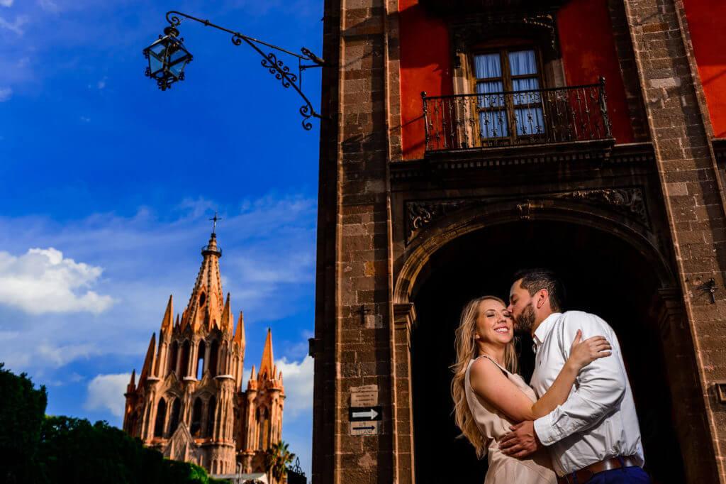 San Miguel De Allende Mexico Engagement Photo