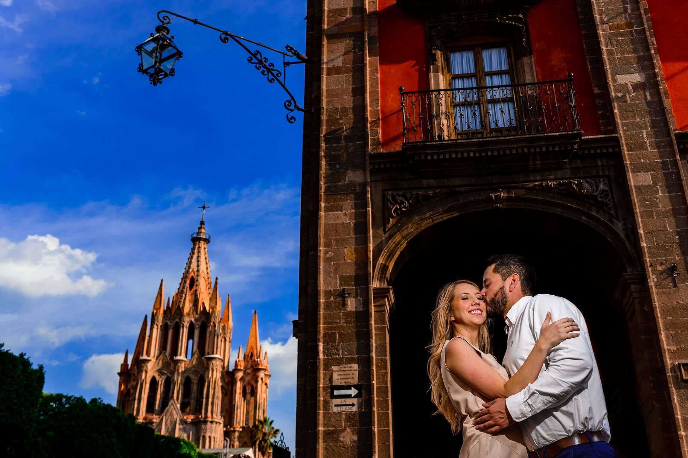 San Miguel De Allende Mexico Engagement Photo