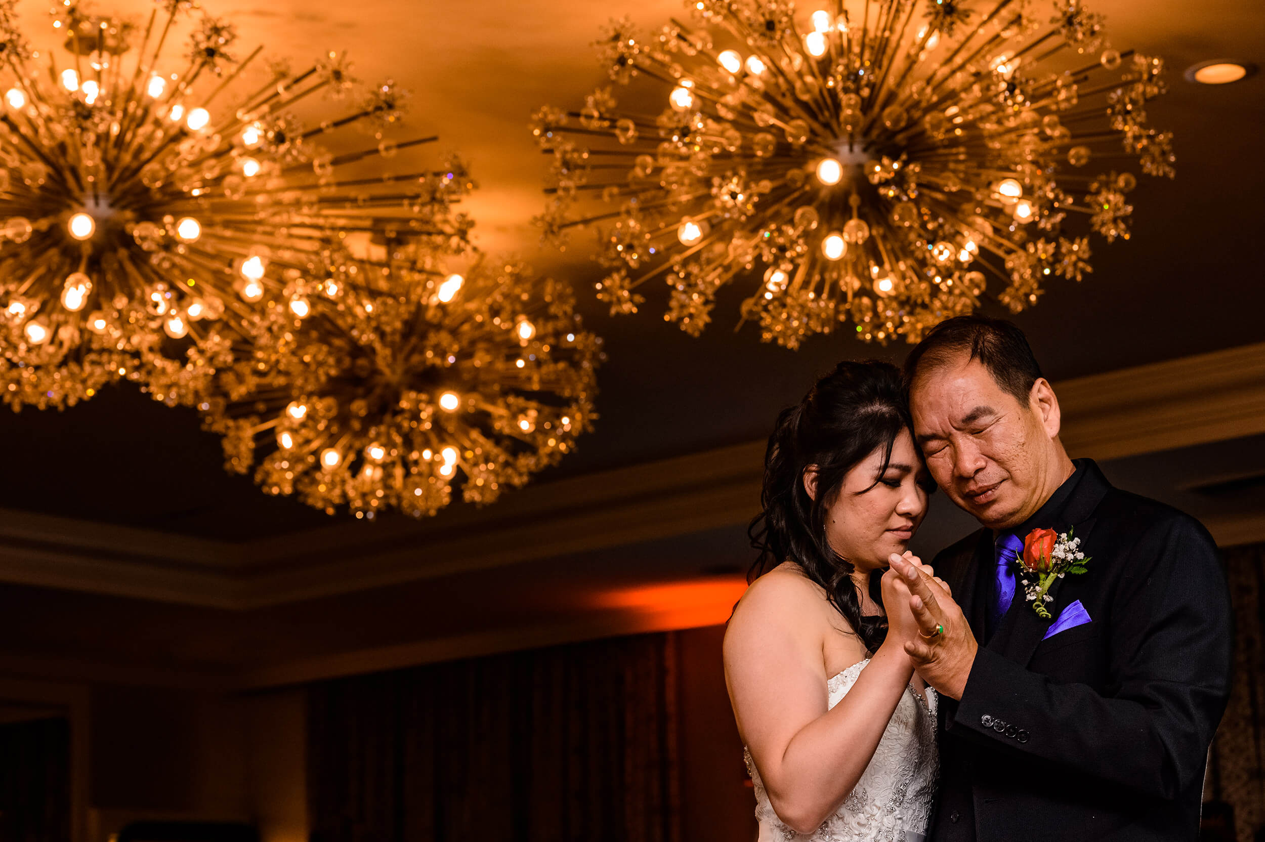 Bride and Father Dance in San Francisco Wedding